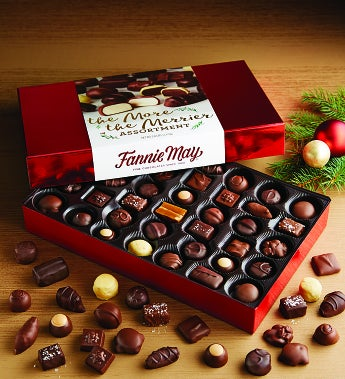 Fannie May More the Merrier Asst Chocolates 80 pc