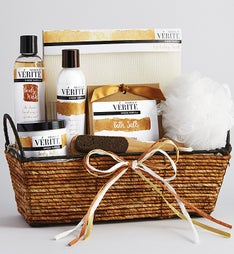 Vanilla Bliss Spa Gift Basket