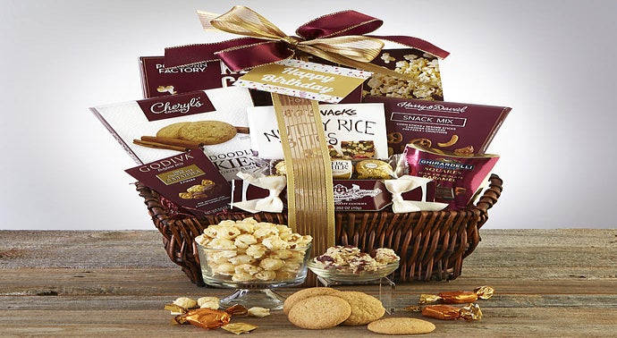 Birthday Gift Baskets Delivery Happy Birthday Gifts 1800baskets Com