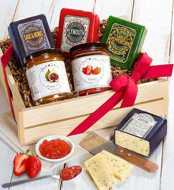 Plymouth Cheese  Just Jans Spreads Gourmet Gift