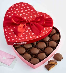 Fannie May Pixies Chocolate Heart Box
