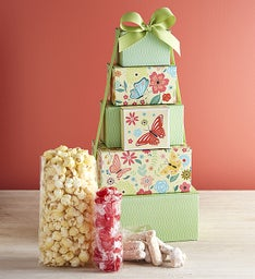 Bloomin' Spring Sweets Tower