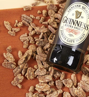Guinness Flavored Pecans