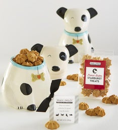 Max  Milo Poochs Treat Time Jar  Treats Gift