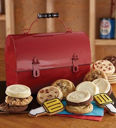 Cheryl's Father's Day Red Tool Box with Cookies