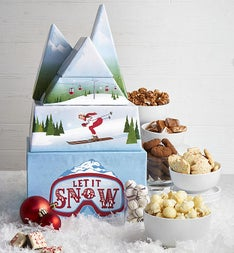 Let It Snow Sweets Gift Tower