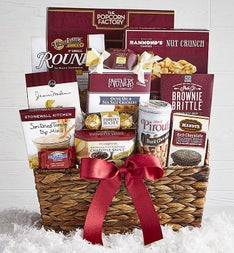 Gourmet Retreat Holiday Gift Basket