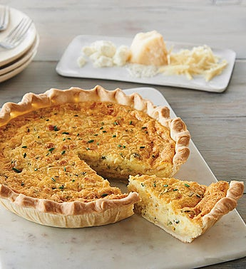 Harry & David® Triple Cheese and Onion Quiche