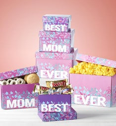 Best Mom Ever Sweets & Treats Tower