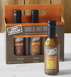 Just Grillin BBQ Sauce Gift Set