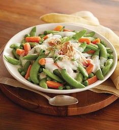 Harry & David® Creamy Spring Peas and Bacon