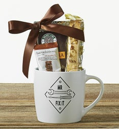 Mr. Fix It Mug With Treats