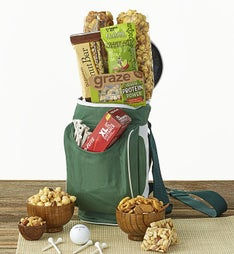 Golf Cooler Bag with Snacks