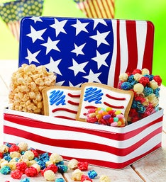 The Popcorn Factory Waving Flag Snack Assortment