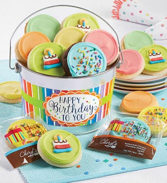 Cheryls Happy Birthday To You Gift Pail