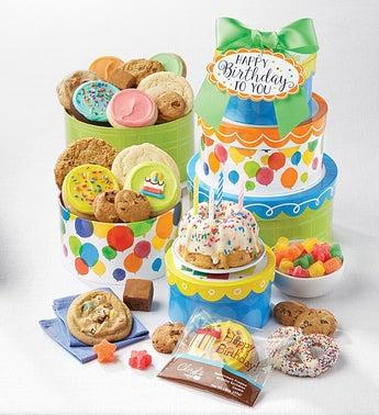 Cheryls Happy Birthday To You Gift Tower