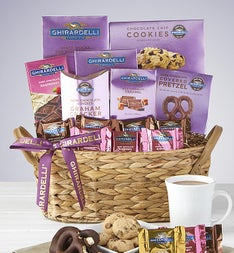 Ghirardelli® Chocolates Gift Basket