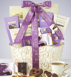 Chocolate gift baskets chocolate gifts gourmet chocolate gifts godiva sweets gift basket negle Choice Image