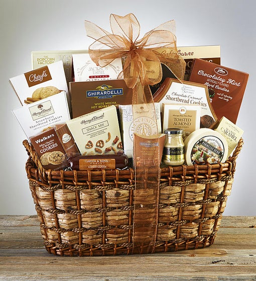 Nature's Bounty Gourmet Gift Basket
