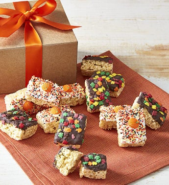 Festive Fall Hand Dipped Crispy Rice Bites