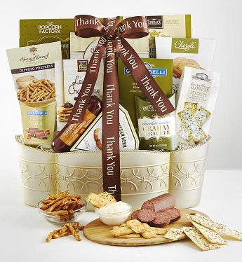 With Grateful Thanks Gourmet Gift Basket