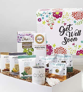 Get Well! Tea for You Market Box