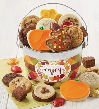 Cheryl's Fall Enjoy! Treats Bucket