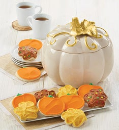 Cheryls Collectors Edition Pumpkin Cookie Jar