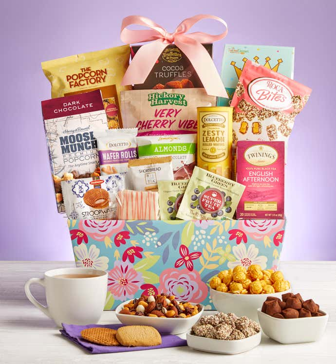 Mother's Day Delights Gift Basket