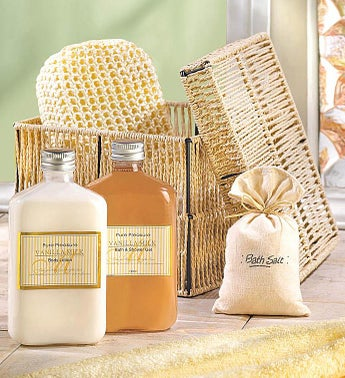 Vanilla Milk Bath  Body Gift Set