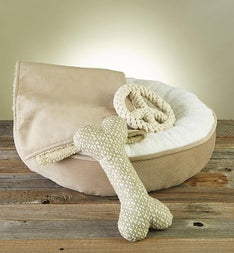 Sweet Dreams Pet Bed Blanket  Toy Gift Set