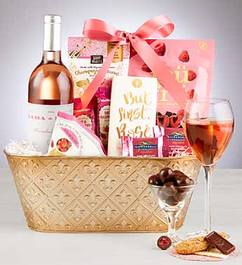 Rosé is The Way Gift Basket