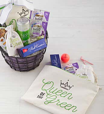 Mom's Golf Basket with Bag