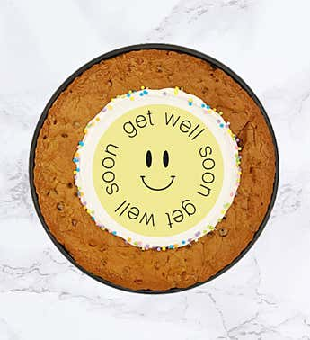 "SPOTS NYC 12"" Get Well Cookie Cake"