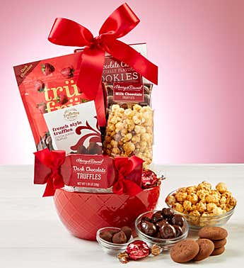 Sweet Valentine's Day Treats Bowl Gift