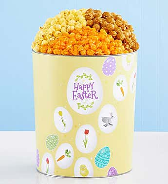 The Popcorn Factory Happy Easter 3.5G 3-Flavor Tin