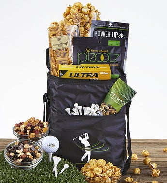 Happy Fathers Day Golf Cooler Bag with Snacks