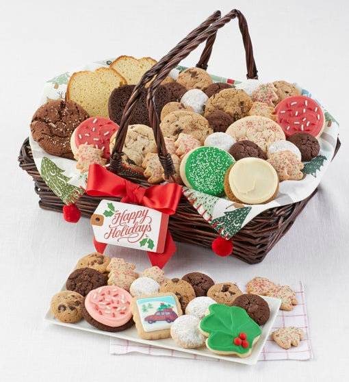Cheryl's Holiday Entertainment Gift Basket