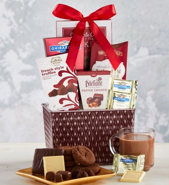 Premier Chocolate Treasures Basket