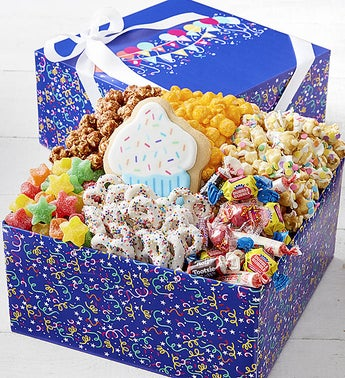 The Popcorn Factory Birthday Balloons Sampler