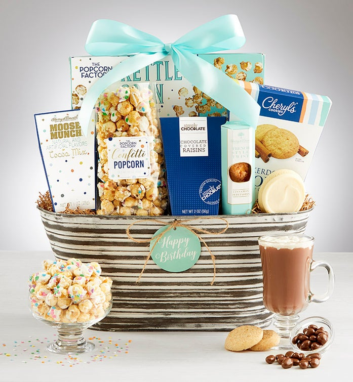 Happy Birthday! Gift Basket
