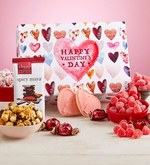 Happy Valentine Chocolate & Sweets Box