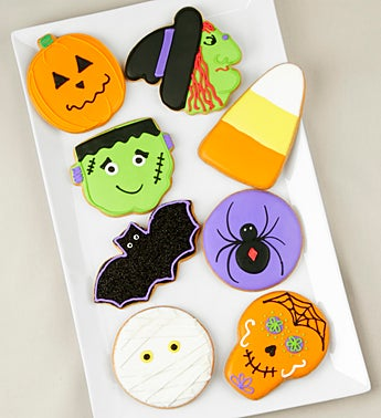 Haunted Halloween Artisan Iced Cookies
