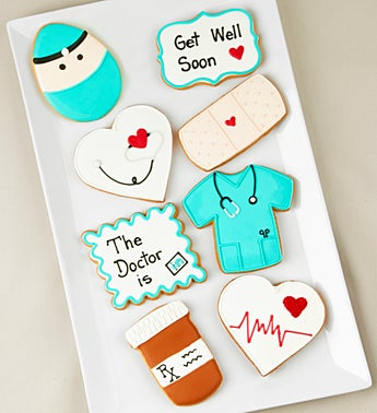 Feel Better Soon! Artisan Iced Cookies