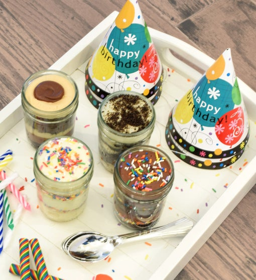 Wicked Good Cupcakes in a Jar Birthday Party