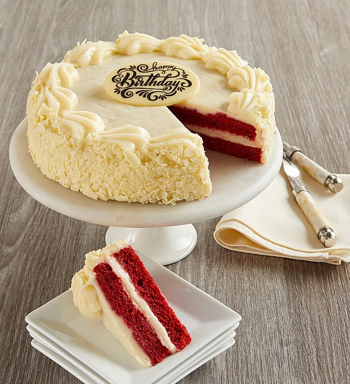 Bake Me a Wish! Happy Birthday Red Velvet Cake
