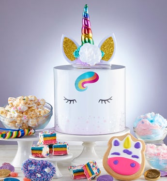 Charming Unicorn Sweets Box