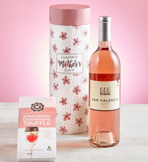 Mother's Day Rosé & Chocolate Gift Set