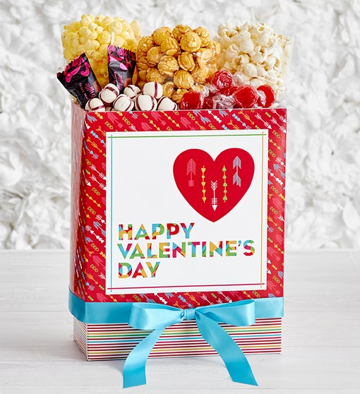 Popcorn Factory Popped Through The Heart Sampler