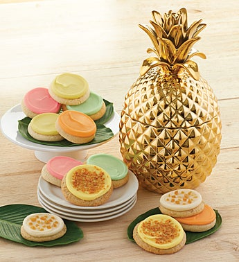 Cheryl's Pineapple Cookie Jar